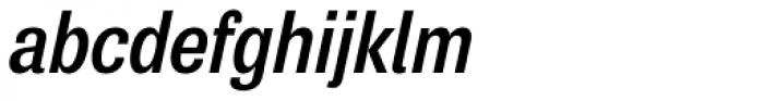 Air Condensed SemiBold Oblique Font LOWERCASE