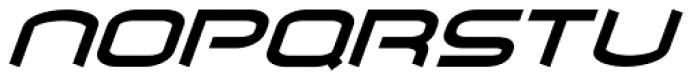 Air Flow BTN Bold Oblique Font UPPERCASE