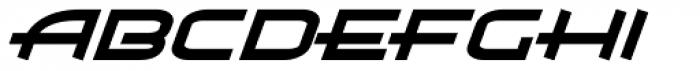 Air Flow BTN Bold Oblique Font LOWERCASE