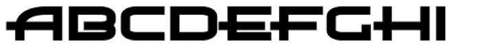 Air Flow BTN Heavy Font LOWERCASE