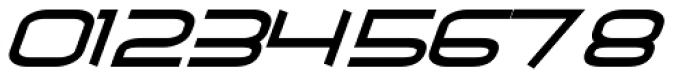 Air Flow BTN Oblique Font OTHER CHARS