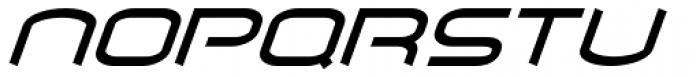 Air Flow BTN Oblique Font UPPERCASE