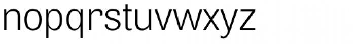 Air Light Font LOWERCASE