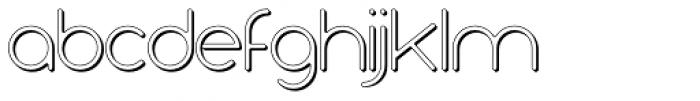 Air Shadow Font LOWERCASE