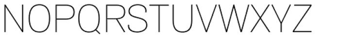 Air Thin Font UPPERCASE