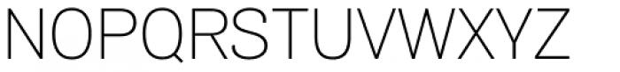 Air UltraLight Font UPPERCASE