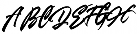Airborne Normal Font UPPERCASE