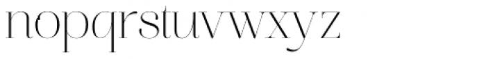 Aire Roman Pro Font LOWERCASE