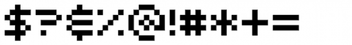 Airlock Font OTHER CHARS