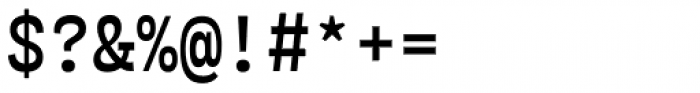 Airo Semi Light Font OTHER CHARS