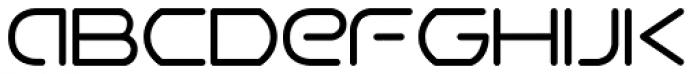 Airwave Light Font LOWERCASE