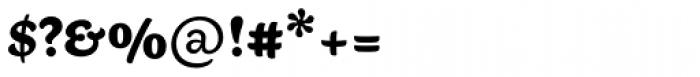 Aisha Latin ExtraBold Font OTHER CHARS