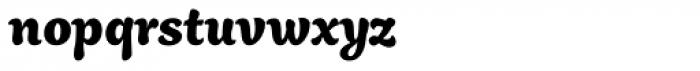 Aisha Latin ExtraBold Font LOWERCASE