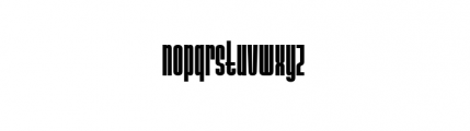 Ainsdale Bold Font LOWERCASE