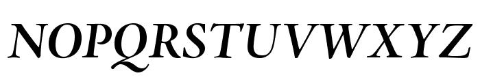 AJensonPro-BoldItSubh Font UPPERCASE