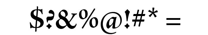 AJensonPro-BoldSubh Font OTHER CHARS