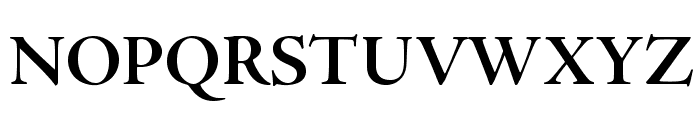 AJensonPro-BoldSubh Font UPPERCASE