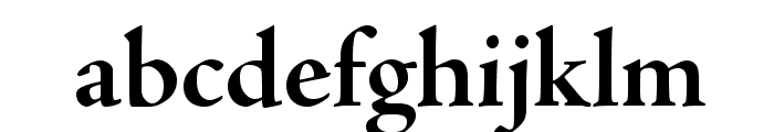 AJensonPro-BoldSubh Font LOWERCASE