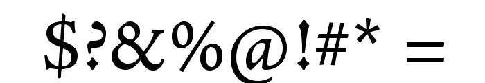 AJensonPro-Capt Font OTHER CHARS