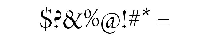 AJensonPro-Disp Font OTHER CHARS