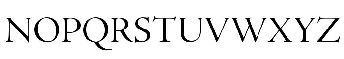 AJensonPro-Disp Font UPPERCASE