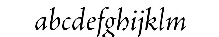 AJensonPro-ItSubh Font LOWERCASE