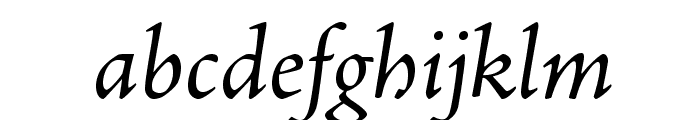 AJensonPro-It Font LOWERCASE