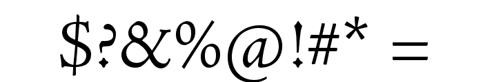 AJensonPro-Lt Font OTHER CHARS