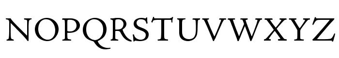 AJensonPro-LtCapt Font UPPERCASE