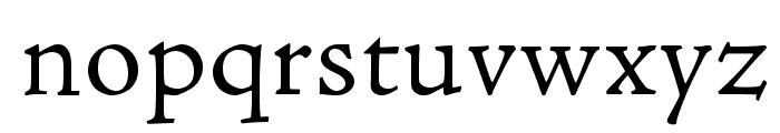 AJensonPro-LtCapt Font LOWERCASE