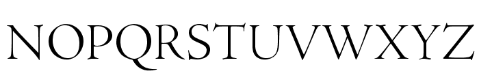 AJensonPro-LtDisp Font UPPERCASE