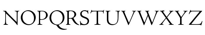 AJensonPro-LtSubh Font UPPERCASE