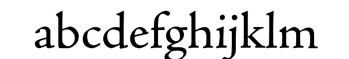 AJensonPro-Regular Font LOWERCASE