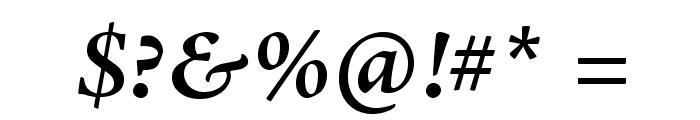 AJensonPro-SemiboldIt Font OTHER CHARS