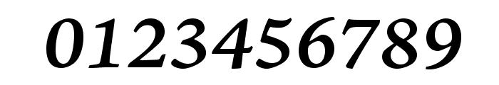 AJensonPro-SemiboldItCapt Font OTHER CHARS