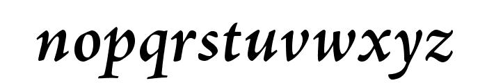 AJensonPro-SemiboldIt Font LOWERCASE