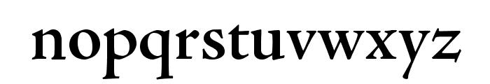 AJensonPro-SemiboldSubh Font LOWERCASE
