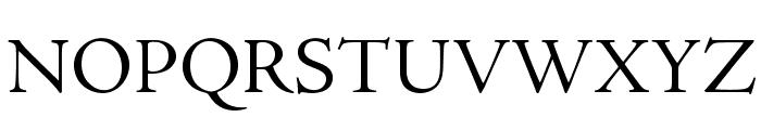 AJensonPro-Subh Font UPPERCASE