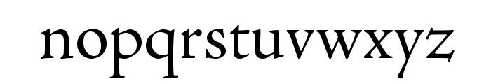 AJensonPro-Subh Font LOWERCASE