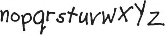 AJ ttf (400) Font LOWERCASE