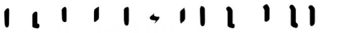 AJ Quadrata Medieval Bold Rubrum Font UPPERCASE