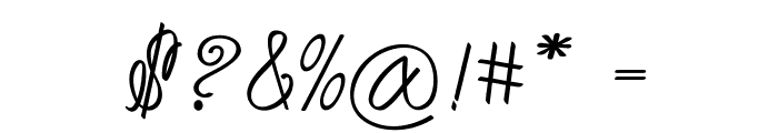 Akir-Bold Font OTHER CHARS