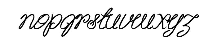 Akir-BoldItalic Font LOWERCASE