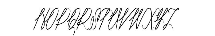 Akir-CondensedItalic Font UPPERCASE