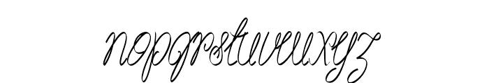 Akir-CondensedItalic Font LOWERCASE