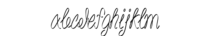 Akir-CondensedRegular Font LOWERCASE