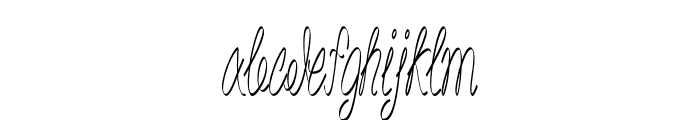 Akir-ExtracondensedRegular Font LOWERCASE