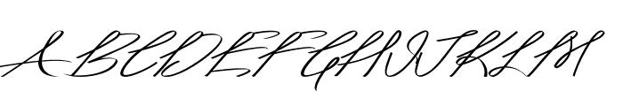 Akir-ExtraexpandedItalic Font UPPERCASE