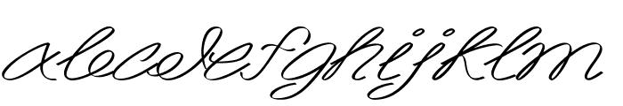 Akir-ExtraexpandedItalic Font LOWERCASE