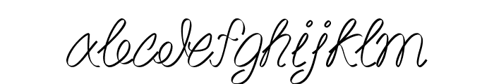 Akir Font LOWERCASE